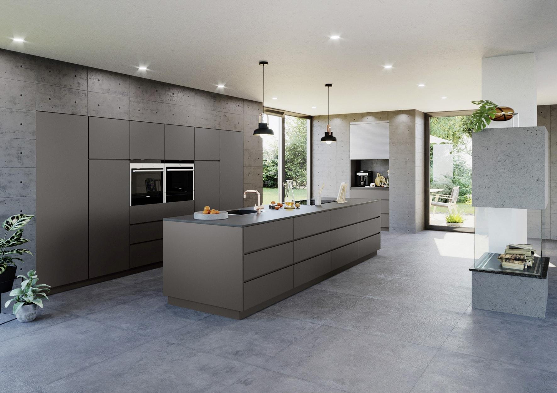 RAUVISIO surfaces - cuisine - coloris titanio-min