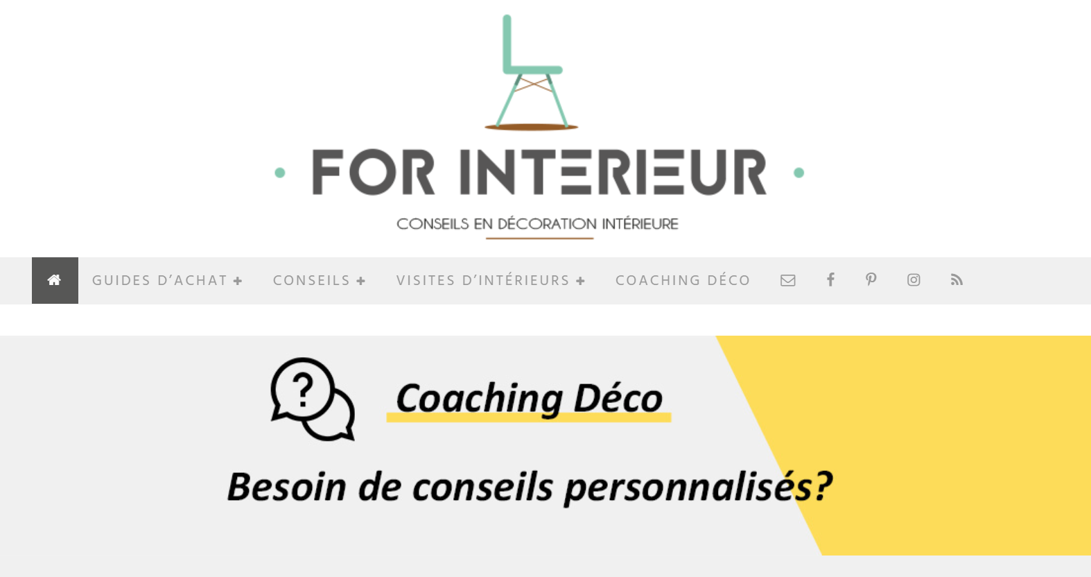 site for Interieur