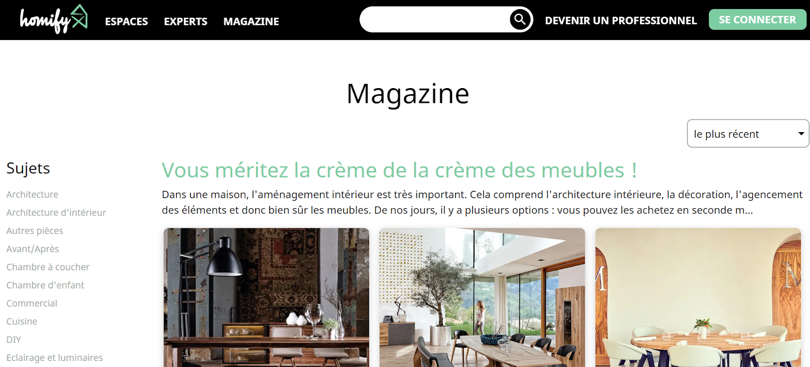 site Homify