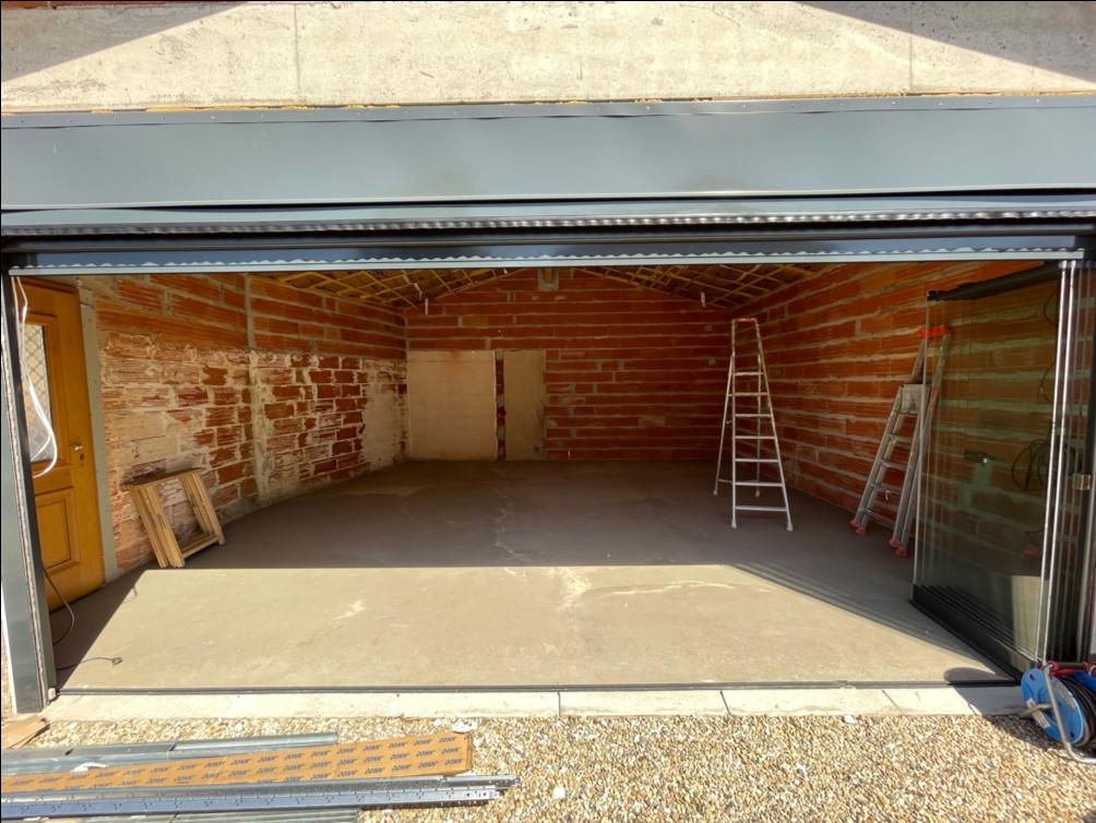 le garage avant rehau agencement garages luxe solutions agencement
